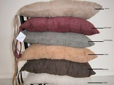 Bonded Micro Suede fully quilted dining chair cushion pad protector slipcovers