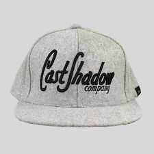 CAST ombra lettermark CAPPELLINO-GRIGIO UNISEX FASHION Snapback LANA