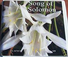 """Malcolm Smith """"Song of Solomon"""" 6hrs cd's"""