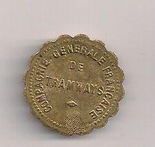 France jeton token Compagnie Generale Francaise De Tramways 5c token