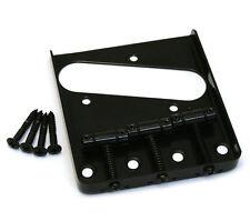 GB-TTS-B Black 3-Saddle Bridge for Fender Telecaster/Tele® Fender Guitar