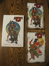 GRIFTER SHI Final Rites HC signed BILLY TUCCI Edition GN  bonus Comics 1 & 2 NM