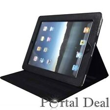 MAGNETIC LEATHER SMART COVER CASE FOR APPLE IPAD 1 IPAD1 WIFI 3G W/ STAND BLACK