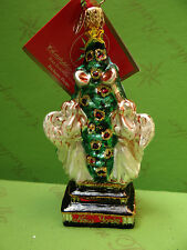 Christopher Radko New York Herald In The Holidays Glass Ornament
