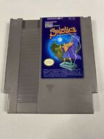 Solstice: The Quest for the staff of Demnos (NES) Cleaned Tested Works GREAT