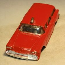 """1958 Chevrolet Station Wagon ~1/64 Scale Hubley """"Real Toys"""" Made in USA RARE!"""
