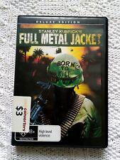 FULL METAL JACKET – DVD, REGION-4, LIKE NEW, FREE PSOT IN AUSTRALIA