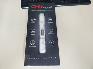 "CHI ORIGINAL DIGITAL CERAMIC 1"" FLAT IRON STYLER #CA2353 MODERN MARBLE FREE SHIP"
