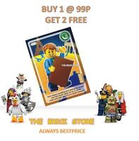 LEGO #002 - SAM WITH BOOK CREATE THE WORLD TRADING CARD - BESTPRICE + GIFT - NEW