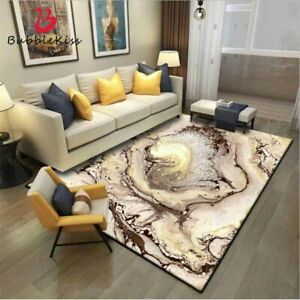 Fashion Nordic Style Abstract Pattern Rug Home Thicken Carpets for Living Room