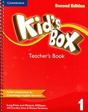 Cambridge KID'S BOX 1 Teacher's Book SECOND EDITION (2014) for STARTERS @NEW@