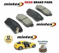 FOR Mazda RX8 1.3i 2.6 ROTARY 2003-2008 NEW REAR MINTEX BRAKE DISC PADS SET