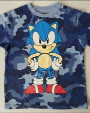 Sonic The Hedgehog t-shirt 8 M 10-12 L 18 XXL New Child Turquoise Boys or girl