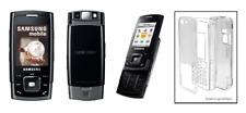 Coque Cristal Transparente (Protection Rigide) ~ Samsung  (Sgh) E900 // E908