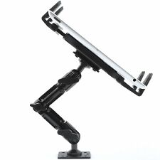 """Industrial Metal Drill Base Tablet Mount Holder for wall or truck iPad Pro 12.9"""""""