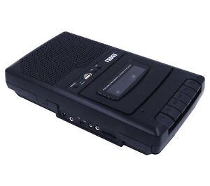Naxa Portable Cassette Recorder/Player & Digital Converter with Built-in Speaker
