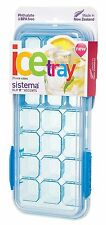 Sistema KLIP IT Accents Ice Cube Tray with Lid, 21 Cubes - Assorted Colours