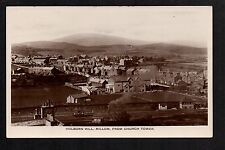 Millom - Holborn Hill from Church Tower - real photographic postcard