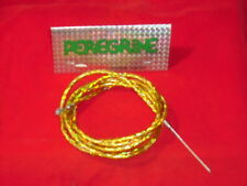 BMX Old School Peregrine CosmicBicycle Brake Cable. NOS. Gold