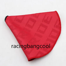 Racing Bride Red Hyper Fabric Shift Boot Shift Knob Cover for Subaru/STI etc.
