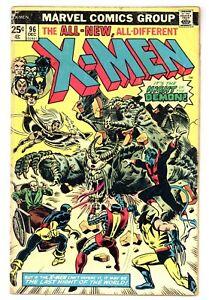 X-Men 96 1st app Moira MacTaggert! Claremont Cockrum 1975 Marvel Comics B904