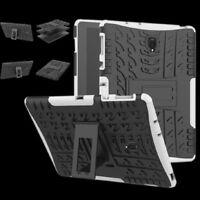 Hibrido Exterior Funda Protectora Blanco para Samsung Galaxy Tab a 10.5 T590
