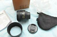 Nikon AF-S 85mm f/1.8G for D850 500 7500 5600 3200 90