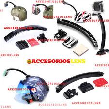Soporte de montaje para casco para cámara gopro 2,3,4,5 sjcam4000,5000WIFI ,sj