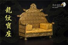 KunLun Toys 1/6 Scale Figure Collection Golden Paint Dragon Chair NO.10001