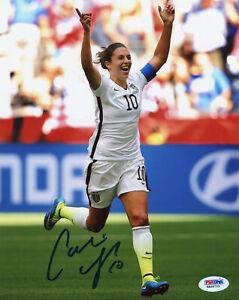 Carli Lloyd Signed PSA/DNA COA 8X10 USWNT USA Women Soccer Photo Auto Autograph