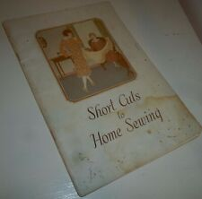 SHORT CUTS TO HOME SEWING (SINGER)