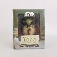 Yoda Collectible Star Wars Book and Small Figurine - Bring You Wisdom, I Will