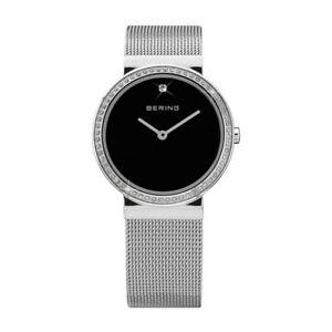Bering Ladies Watch Wristwatch Slim Classic - 10725-012 Meshband
