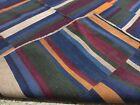 Antique Tibetan Textile size 94 Cm x 88 Cm Natural fabric Yak wool Blanket BT11
