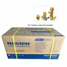 """Navien Npe-240a Tankless Water Heater 200k BTU with 3/4"""" Tankless Valve Kit"""
