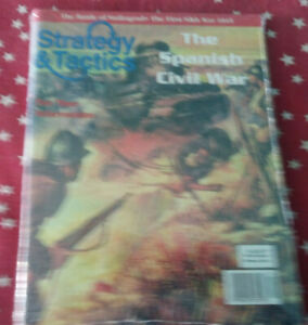 Strategy & Tactics Magazine Decision Games Unpunched #219 The spanish Civil War