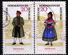 DDR 1079/78, WZd 149, O, Volkstrachten-Zusammendruck