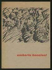 Tekeningen en Grafiek van Umberto Boccioni uit de Collectie Harry Lewis 1st 1962