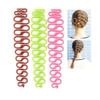 2 Stücke Mode DIY Hair Styling Clip Stick Bun Maker Braid Werkzeug Haar Zubehör