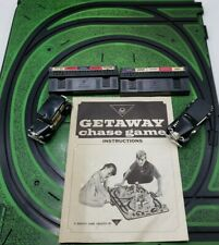 Vintage Getaway Chase Game. 2 Slot Car and 2 Switch Consoles