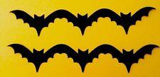 "Halloween Flying Bat Cricut Cardstock Border Die Cuts Punches Handmade 9 1/2"""