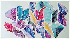 Galaxy Stickers,Crystal Diamond Stickers,Scrapbook Decoupage Journal Card