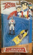 Speed Racer Diecast Figure And Vehicle Classic Racer X With Shooting Star