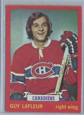 1973-74 OPC #72 Guy Lafleur Montreal Canadiens  EX and CENTERED