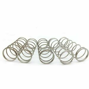 Wire Diameter 0.6mm OD 4-12mm Compression Pressure Spring 304 Stainless Steel
