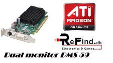 SCHEDA VIDEO GRAFICA PCI EXPRESS 256MB DDR2 AMD ATI RADEON X1300 128BIT DMS-59