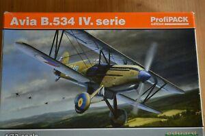 MAQUETTE 1/72 EDUARD AVIA B 534 IV PROFIPACK