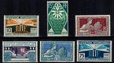 France timbres Expo Internationale des arts décoratifs N° 210 -- 215 Neuf ** MNH