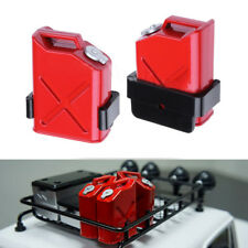 2x RC Rock Crawler Scale Gas Cans Fuel Tank For 1:10 RC Rock Crawler Car