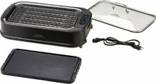 Power XL Smokeless Grill Pro - Black - Brand New